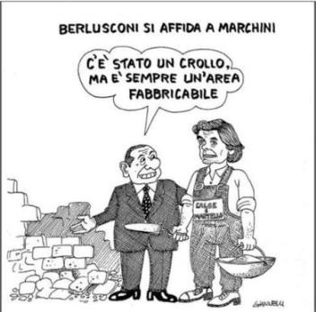 vignetta corriere.it berlusconi marchini 290416