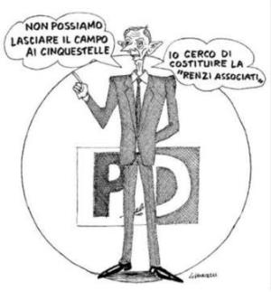 vignetta corriere.it Renzi associati 201117