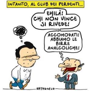 vignetta ilfattoquotidiano.it al club dei perdenti 081117