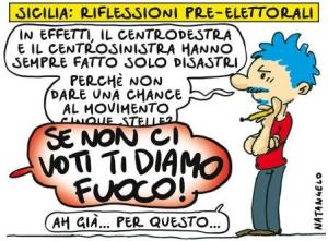 vignetta ilfattoquotidiano.it ti diamo fuoco 041117