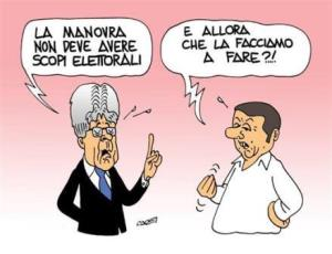 vignetta italiaoggi.it i due bugiardi 131217