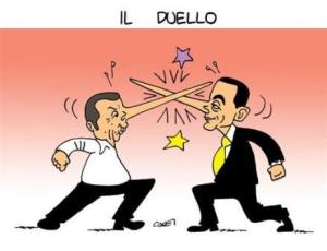 vignetta italiaoggi.it il duello 051117