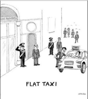 vignetta corriere.it flat taxi 240518