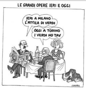 vignetta corriere.it verde Attila 081218