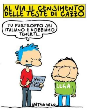 vignetta ilfattoquotidiano.it censimento 190618