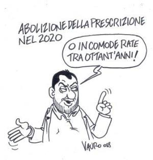 vignetta ilfattoquotidiano.it prescrizione a rate 101118