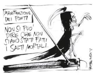 vignetta ilfattoquotidiano.it salti mortali 200818
