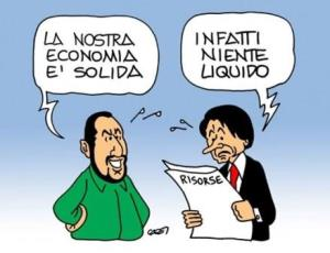 vignetta italiaoggi.it i due economisti 060818