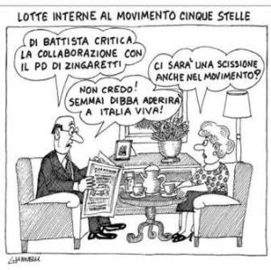 vignetta corriere.it Lo scambista 200919