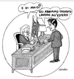 vignetta corriere.it Peso morto 050919