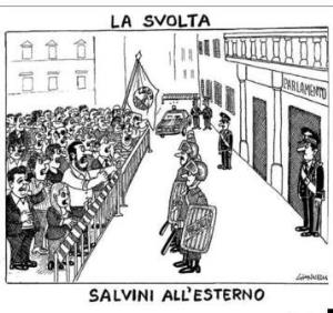 vignetta corriere.it Uomo in carriera 100919