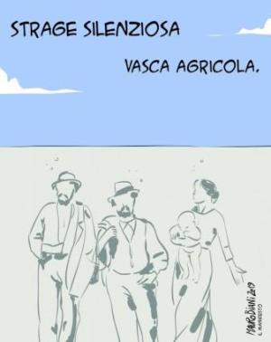 vignetta ilmanifesto.it Vasca mortale 130919