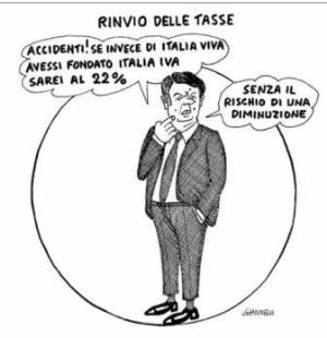 vignetta corriere.it Tentenna 100620