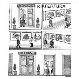 vignetta corriere.it Accontentarsi 120421