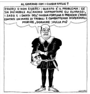 vignetta corriere.it Il dilemma 200819