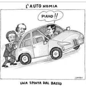 vignetta corriere.it La spinta 220719