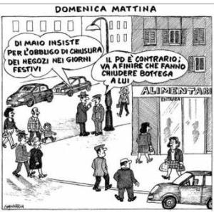 vignetta corriere.it Lite in bottega 041119