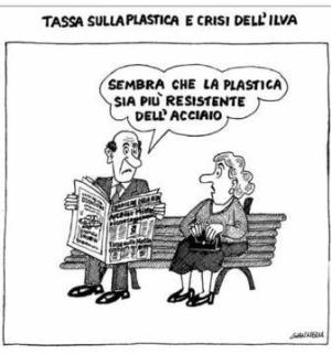 vignetta corriere.it Sorpresa 081119