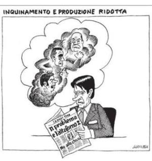 vignetta corriere.it fantasmi inquinanti 091119