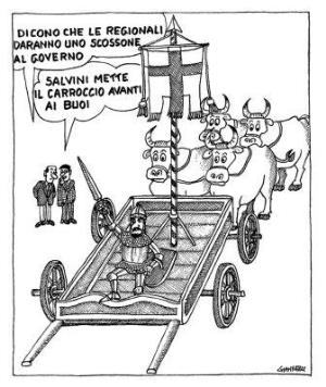 vignetta corriere.it Delirio 190920