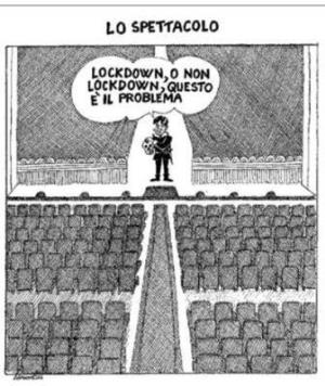 vignetta corriere.it Teatro stabile 311020